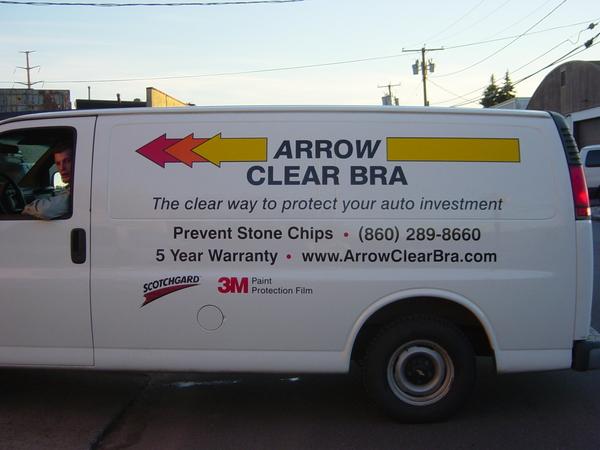 Chevrolet Van Lettering & Graphics