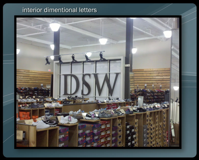 LARGE INTERIOR LETTERS