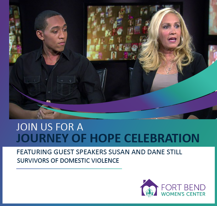 Journey of Hope Event Speakers, benefiting Fort Bend Women's Center