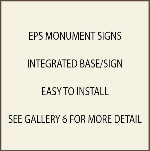 S28400 - Monument and Signs for Businesses