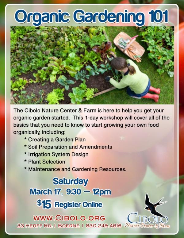 FARM: Organic Gardening 101