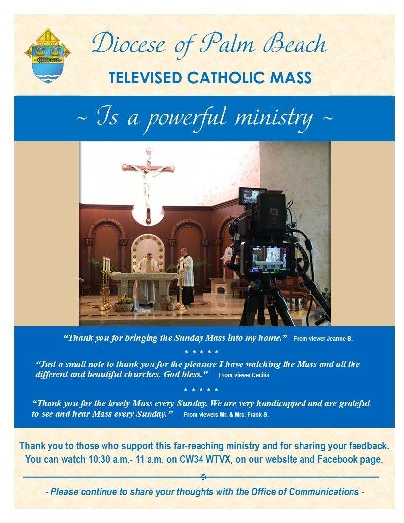 Our Catholic Mass on TV