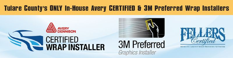 Certified Vehicle Wrap Installers