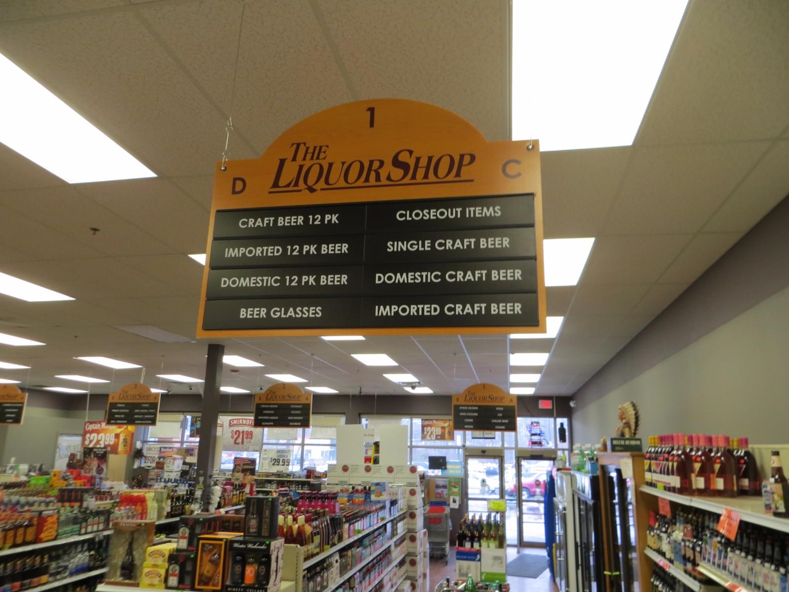 Aisle Marking Signage