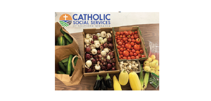 Catholic Social Services of Southern Nebraska Accepts Garden Produce for Food Pantry