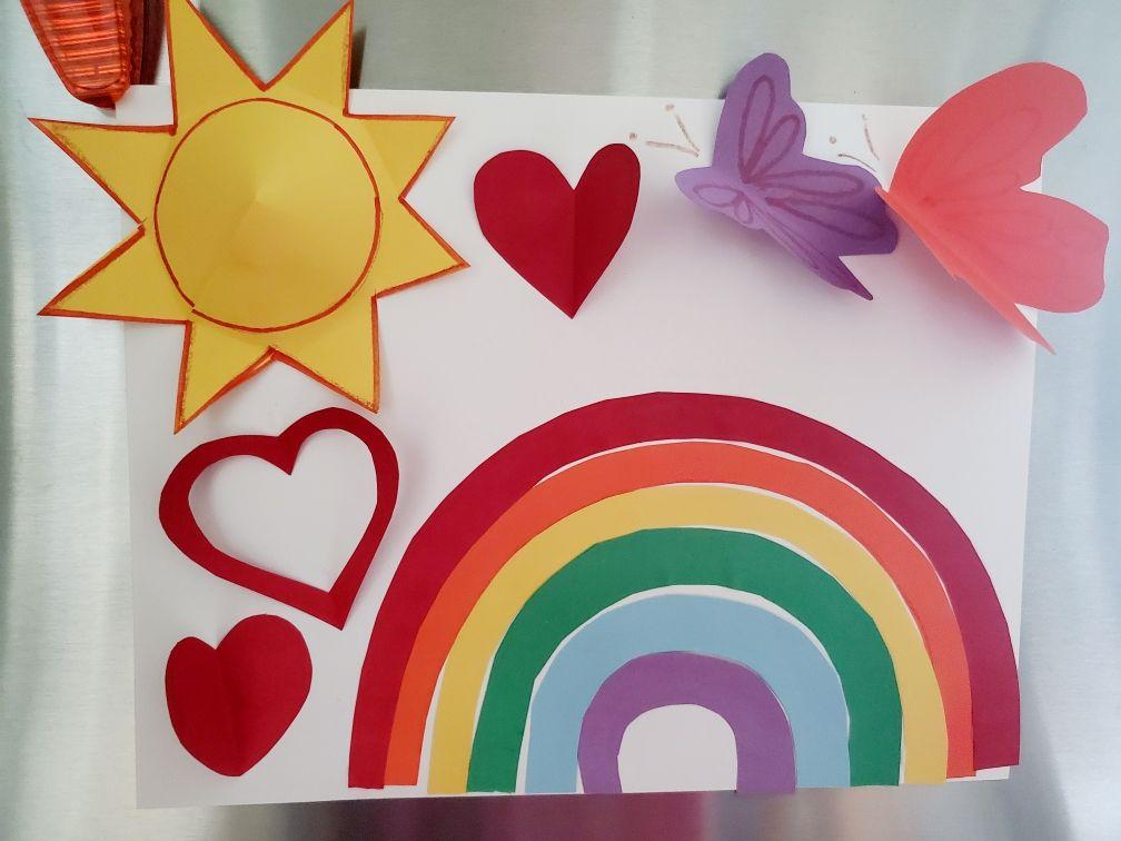 SPARKS - Arts and Crafts: Rainbow Sun Fun