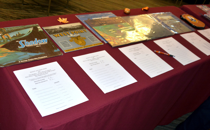 NCMF Silent Auction items.