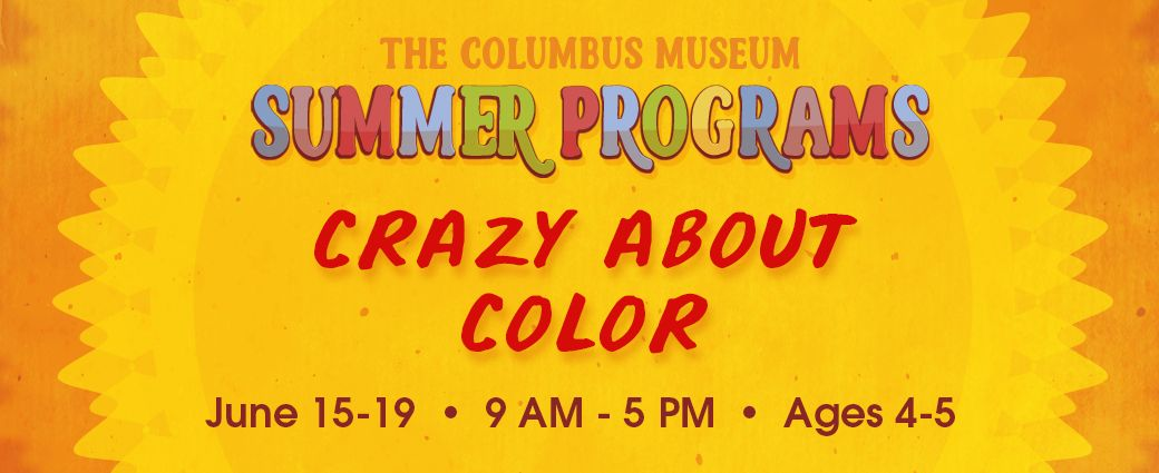 CANCELLED: Summer Camp: Crazy About Color (Ages 4-5)