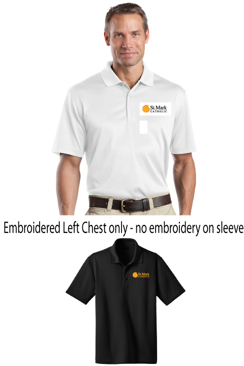 Embroidered - Plain Polo - Mens