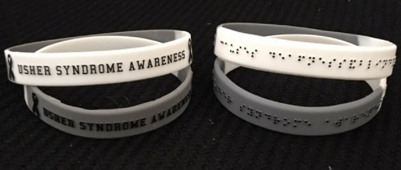 Usher Syndrome Awareness Bracelets