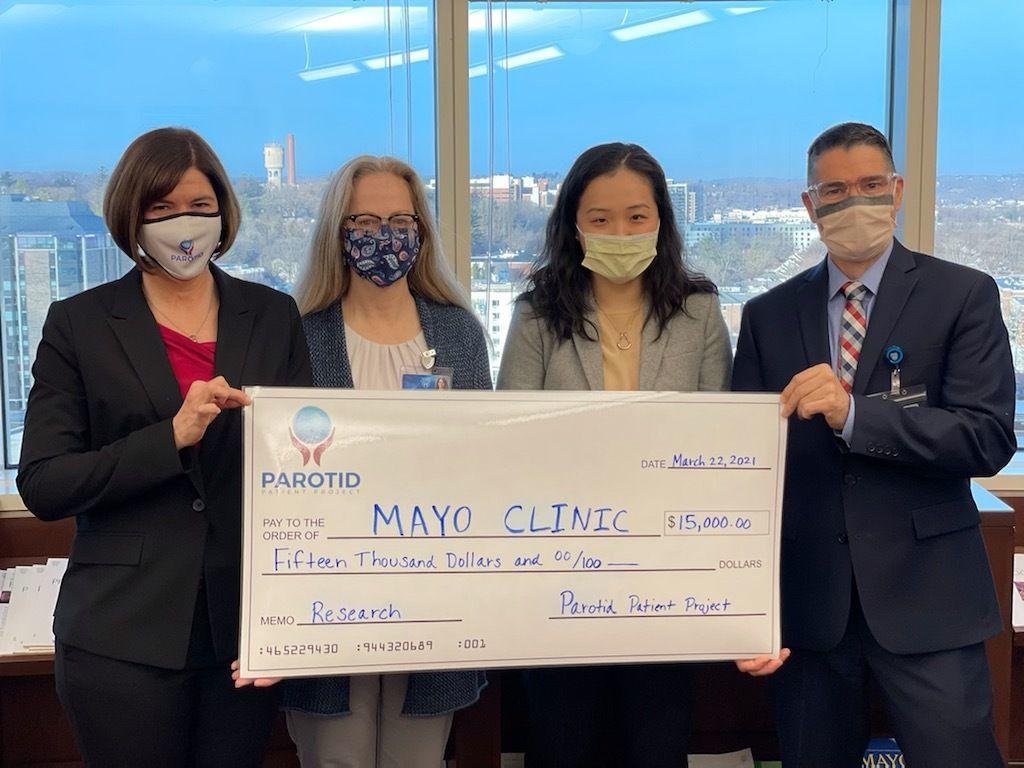 Parotid Patient Project Funds Research Project!