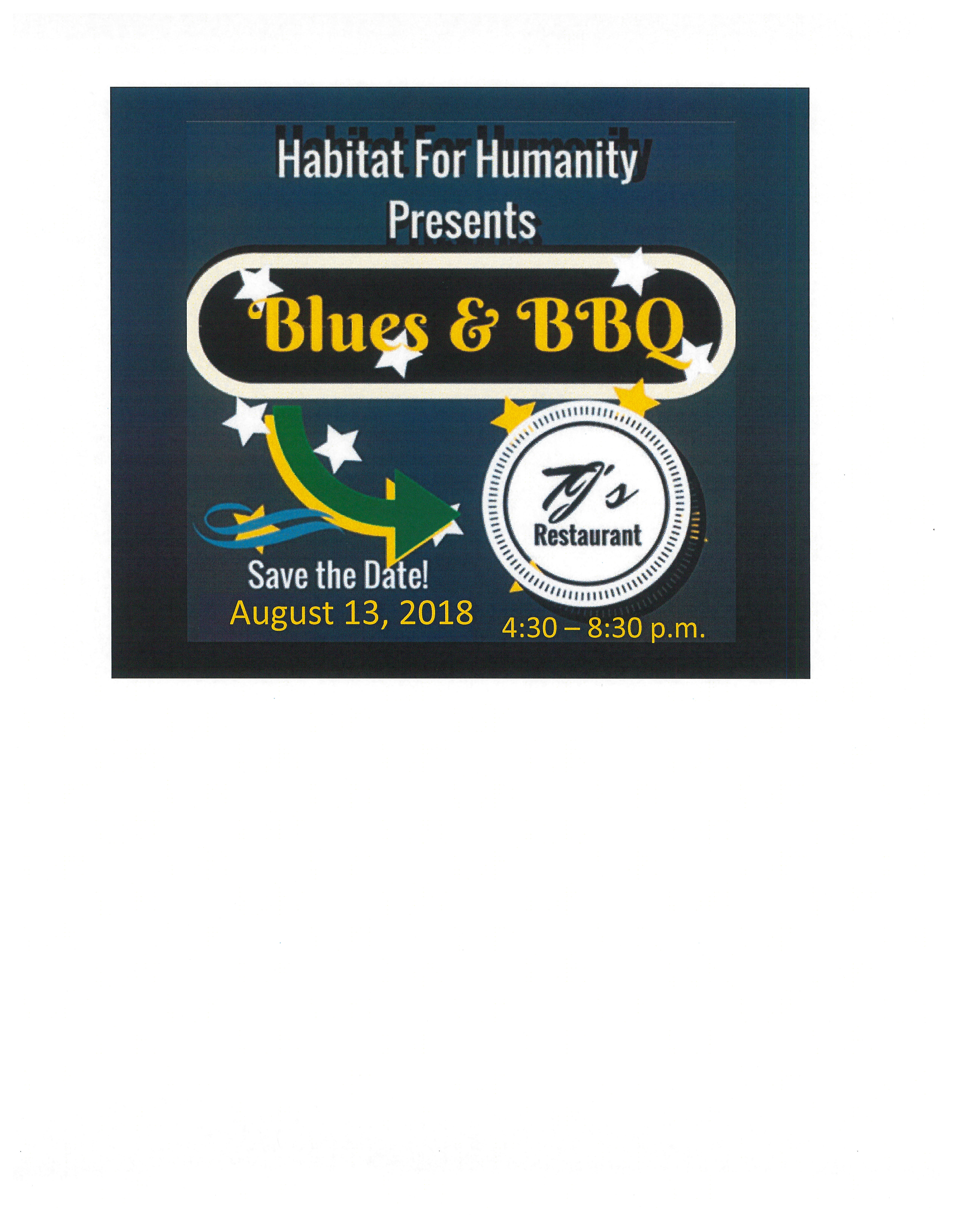 ANNUAL BLUES AND BBQ