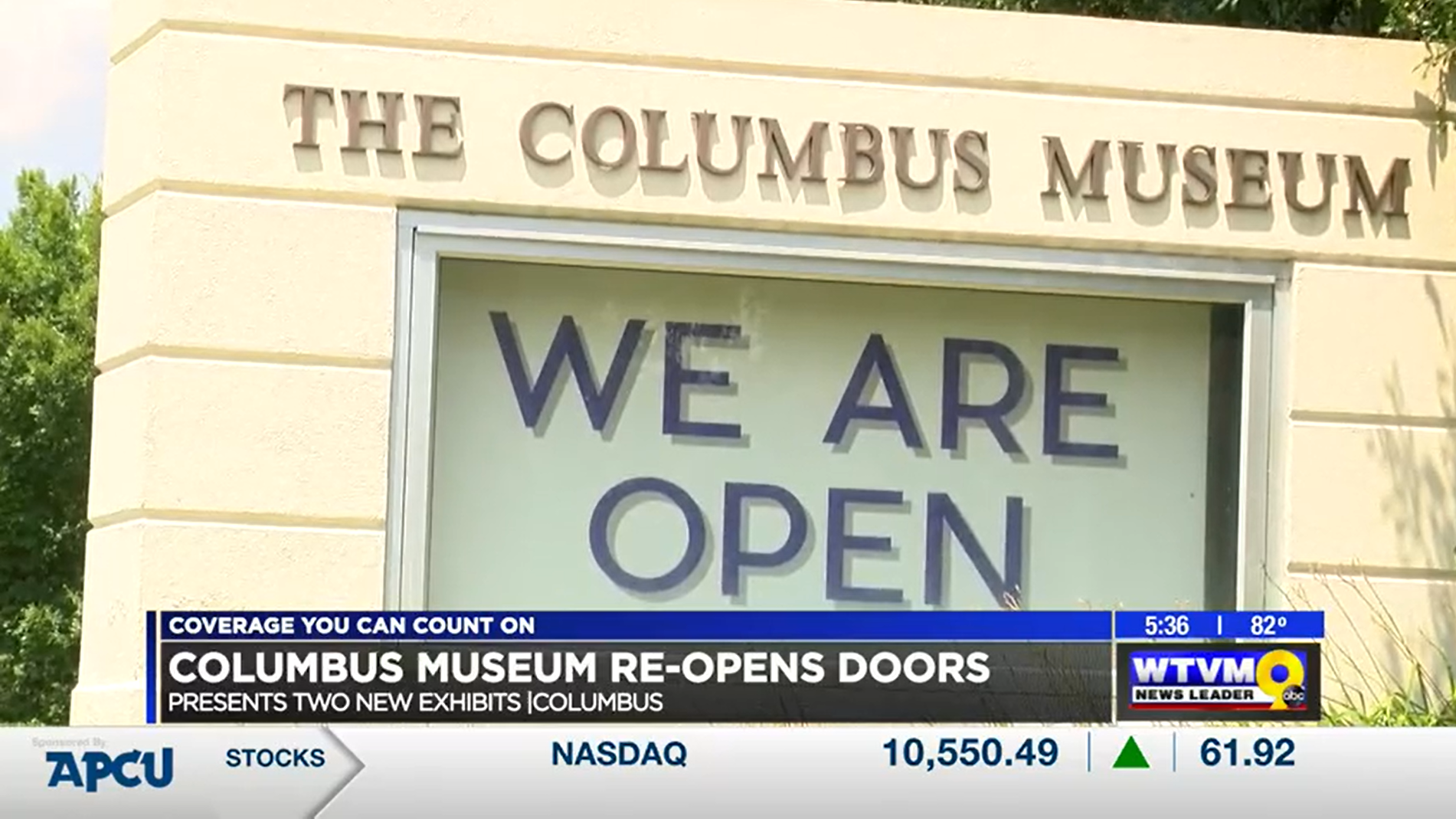 Columbus Museum Reopens with Two New Exhibits