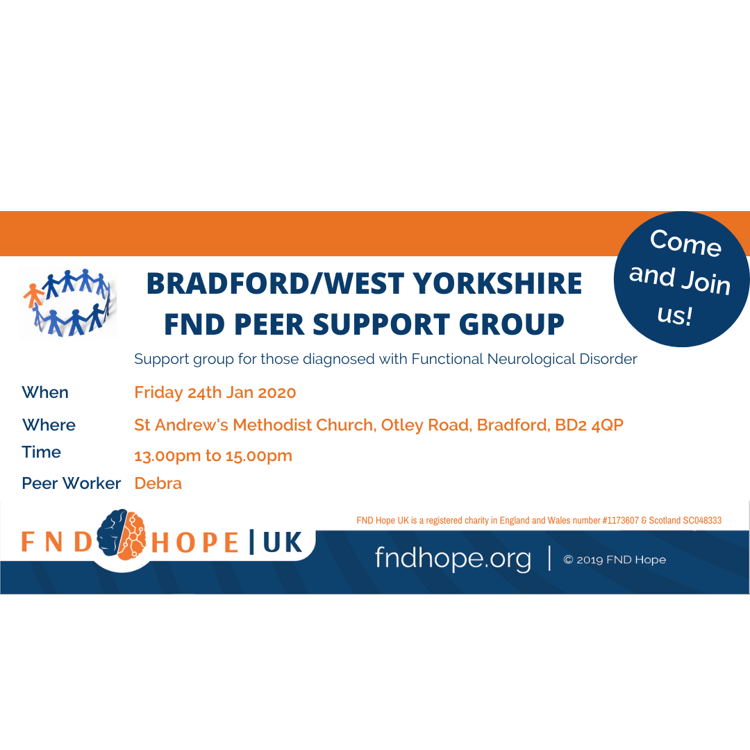 Bradford/West Yorkshire FND Peer Support Group