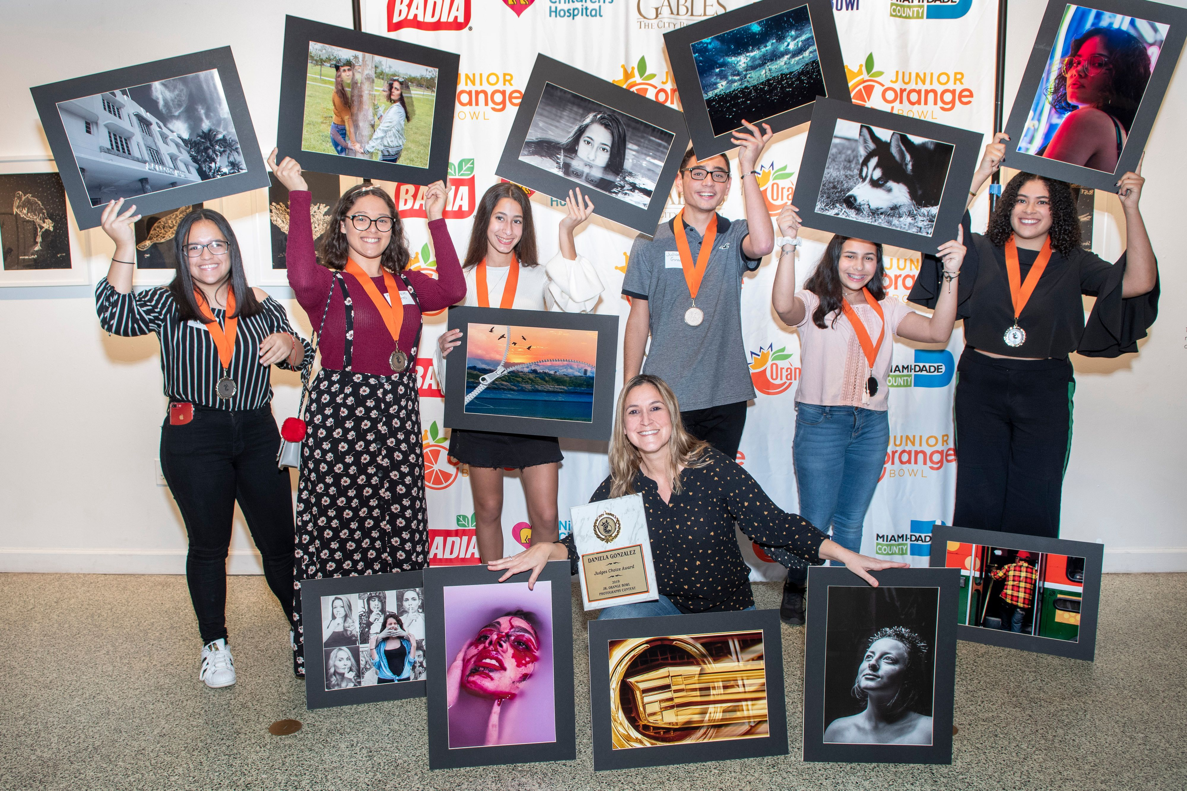 Junior Orange Bowl Photography Competition Awards Ceremony