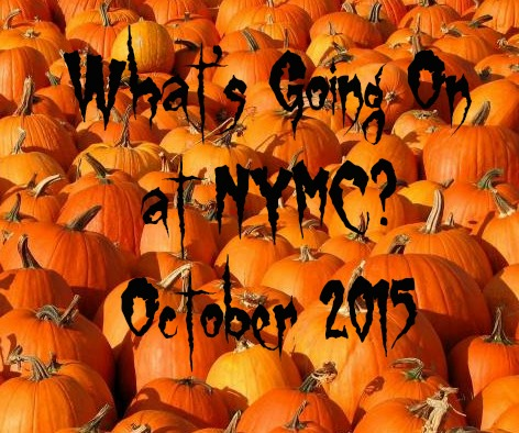 What's Going On: October 2015
