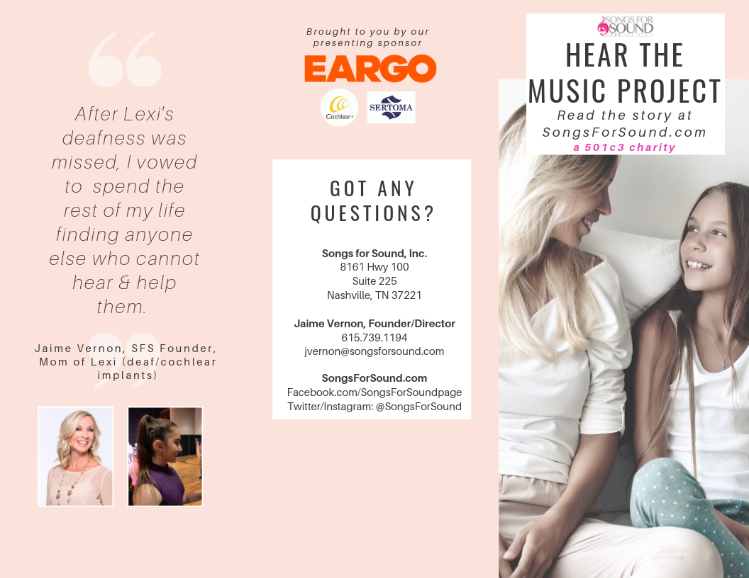 For the Ladies, Caregivers: Family Guide to Hearing Health