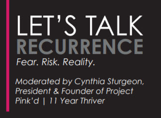 Let's Talk Recurrence - Live Panel