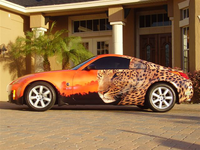 Nissan 300ZX Car Wrap