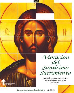 Adoración del Santísimo Sacramento - Booklet