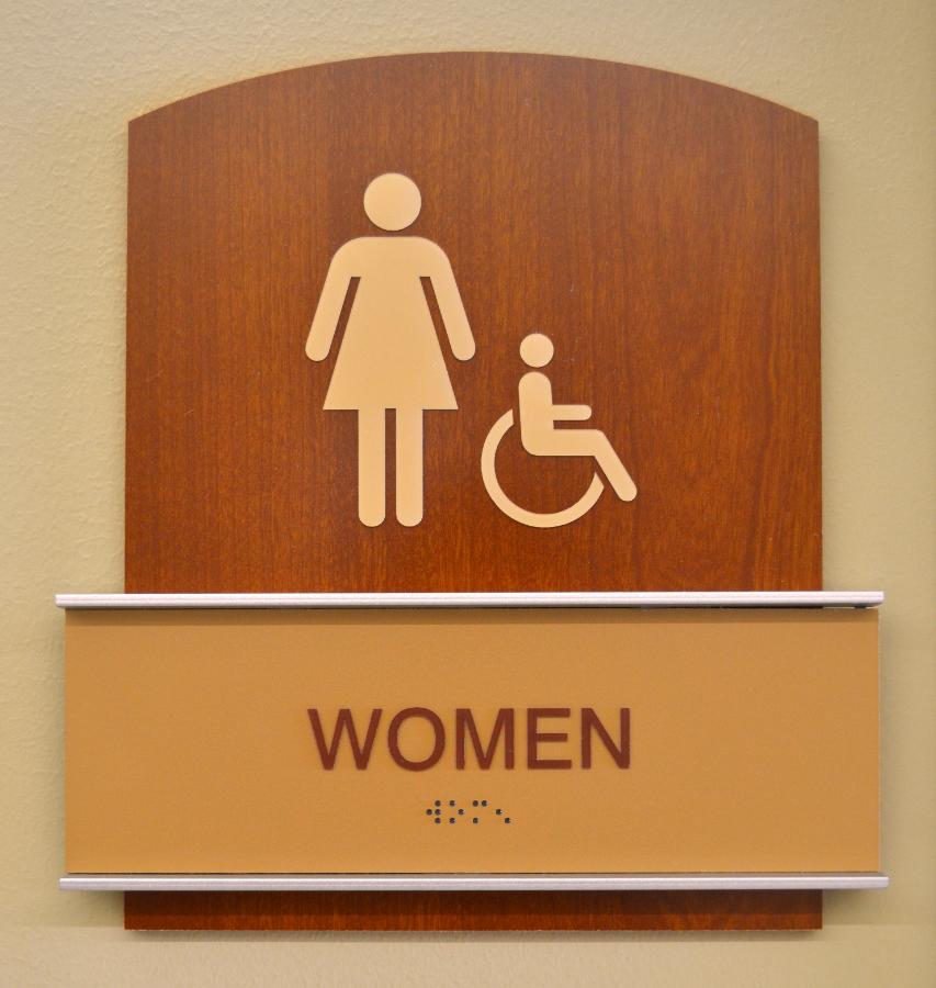 ADA Signage - Women's
