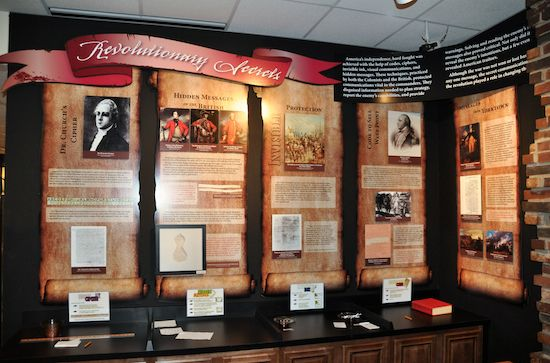 Revolutionary Secrets Exhibit at the National Cryptologic Museum