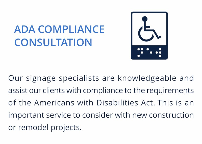 ADA COMPLIANCE CONSULTATION