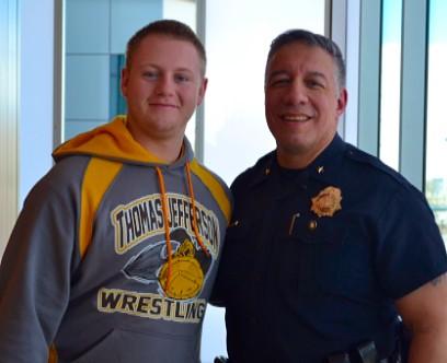 High School Students Visit Denver Crime Lab