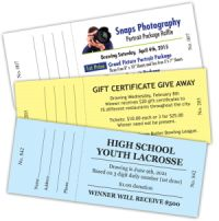 Tickets - Event, Raffle & Raffle Books