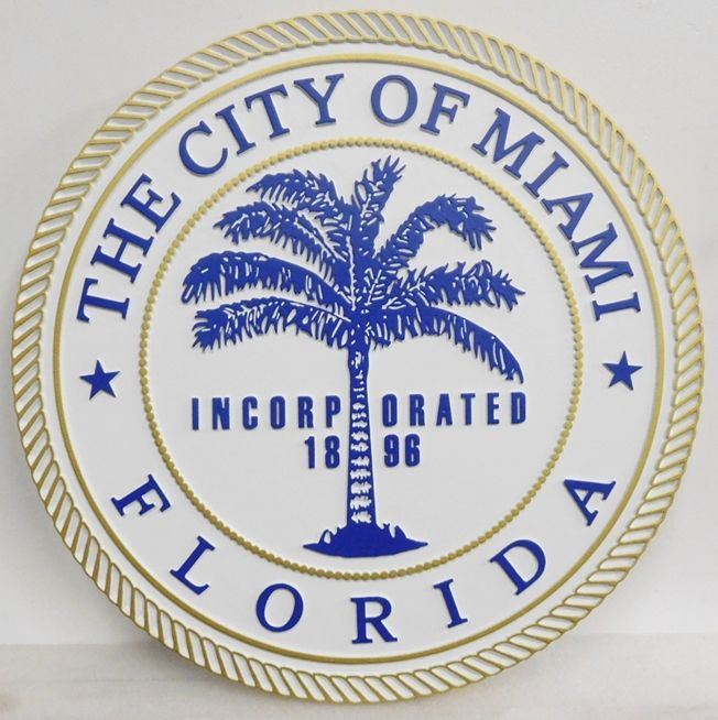 CD9115 - Seal of the City of Miami