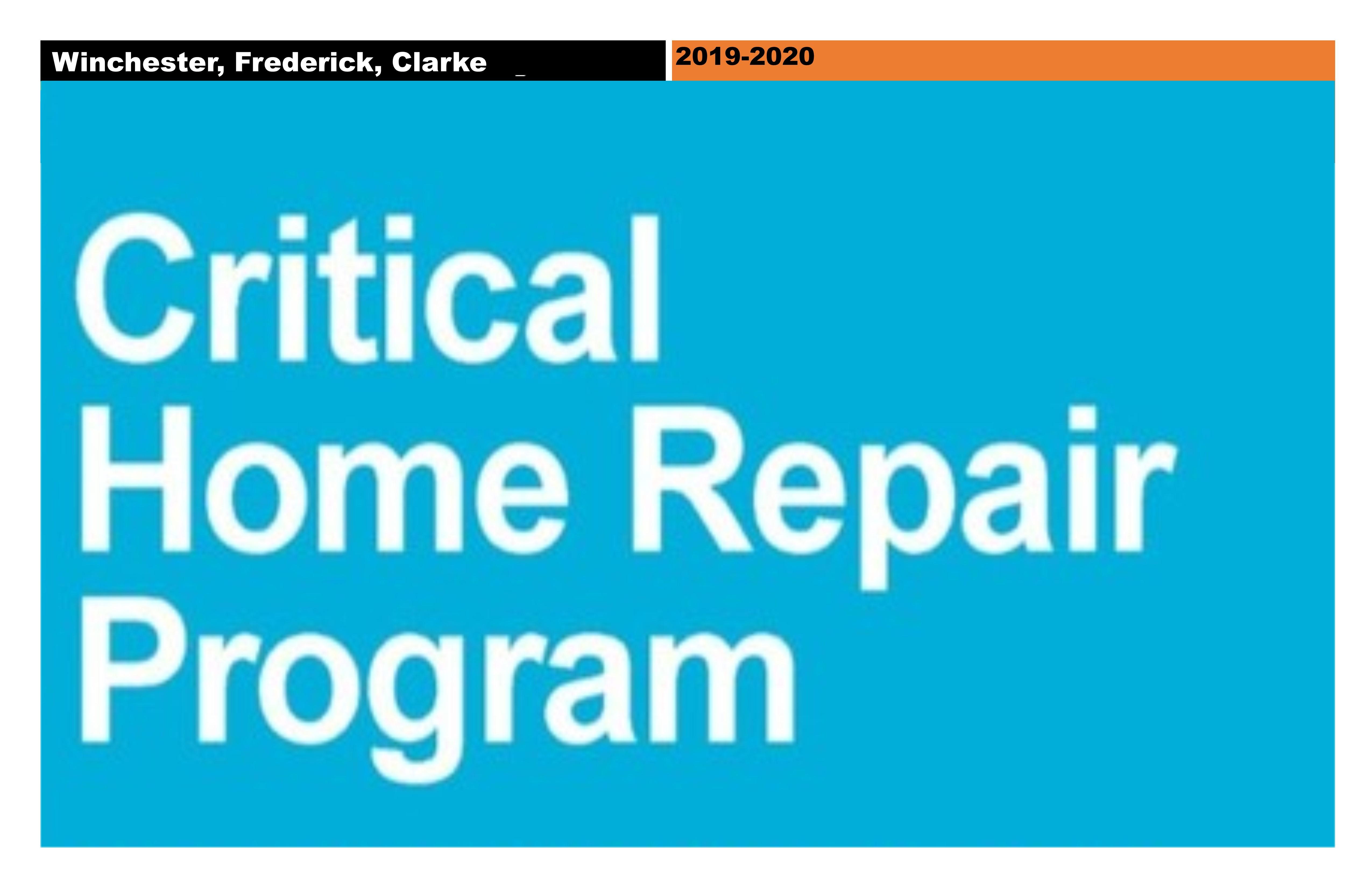 Critical Home Repair Program | Winchester, Frederick and Clarke