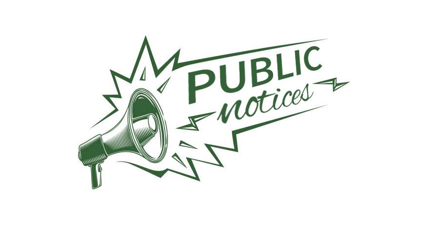 Public Notices!