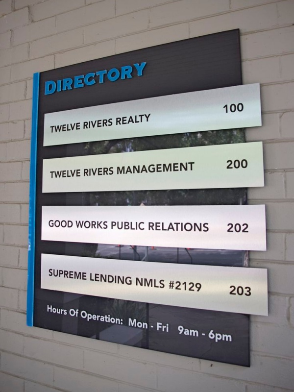 Directory Signs