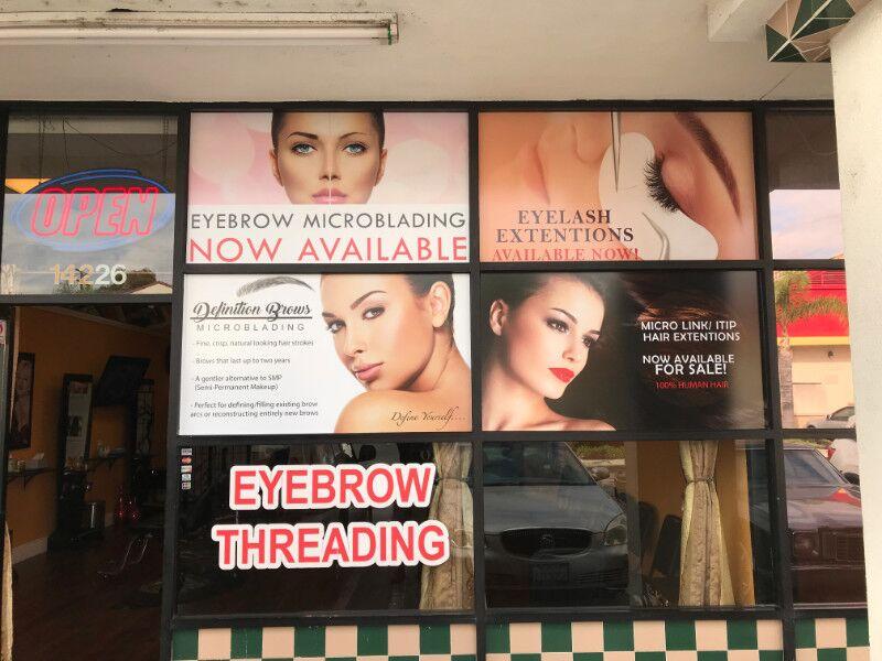 Retail Store Window Graphics for Retailers in La Mirada CA