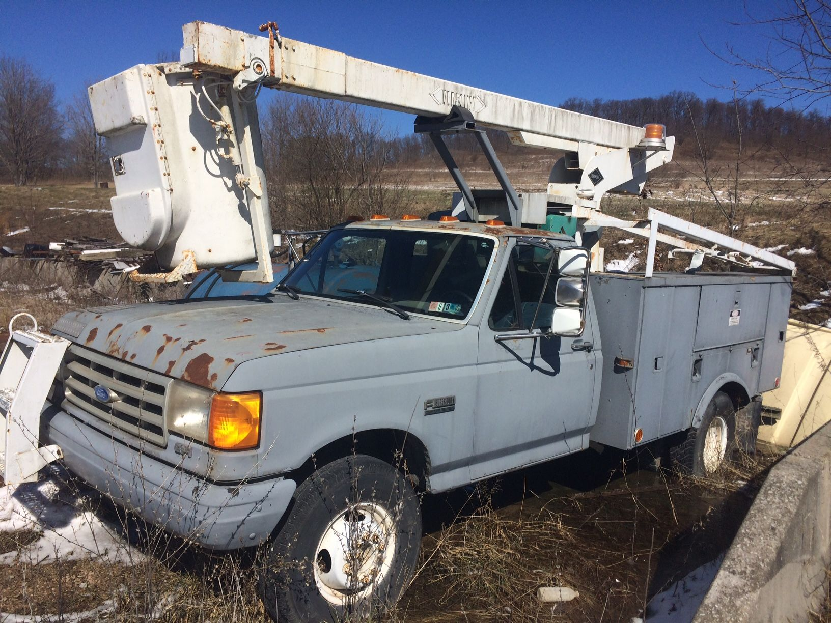 Bucket Truck for Sale