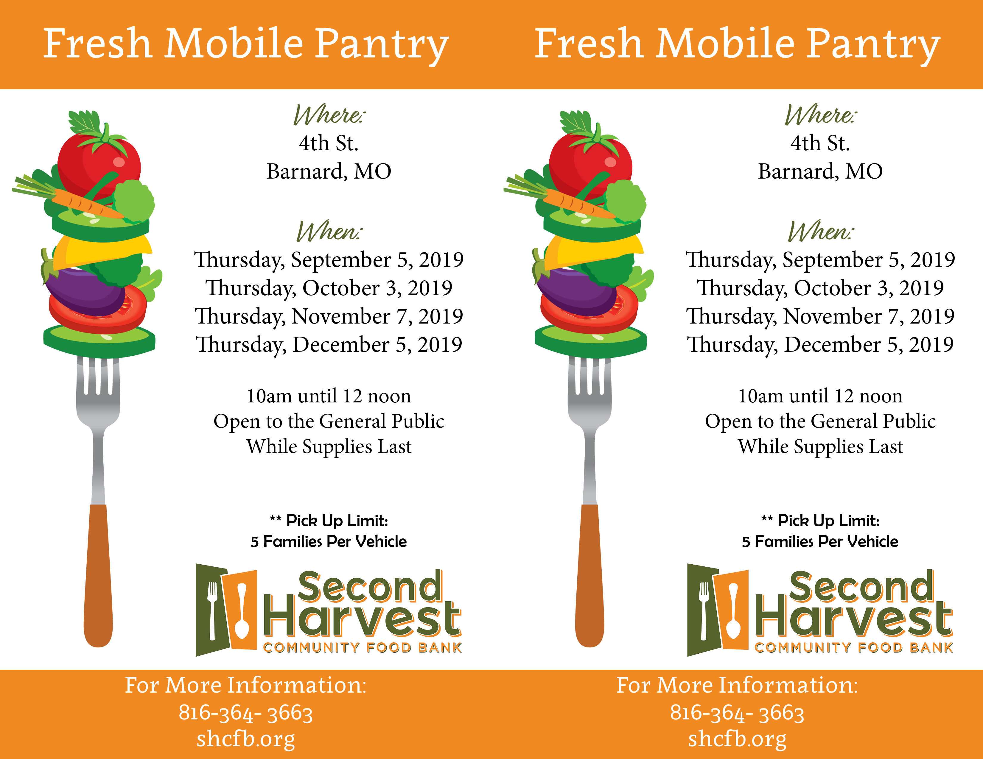 Barnard Fresh Mobile Pantry