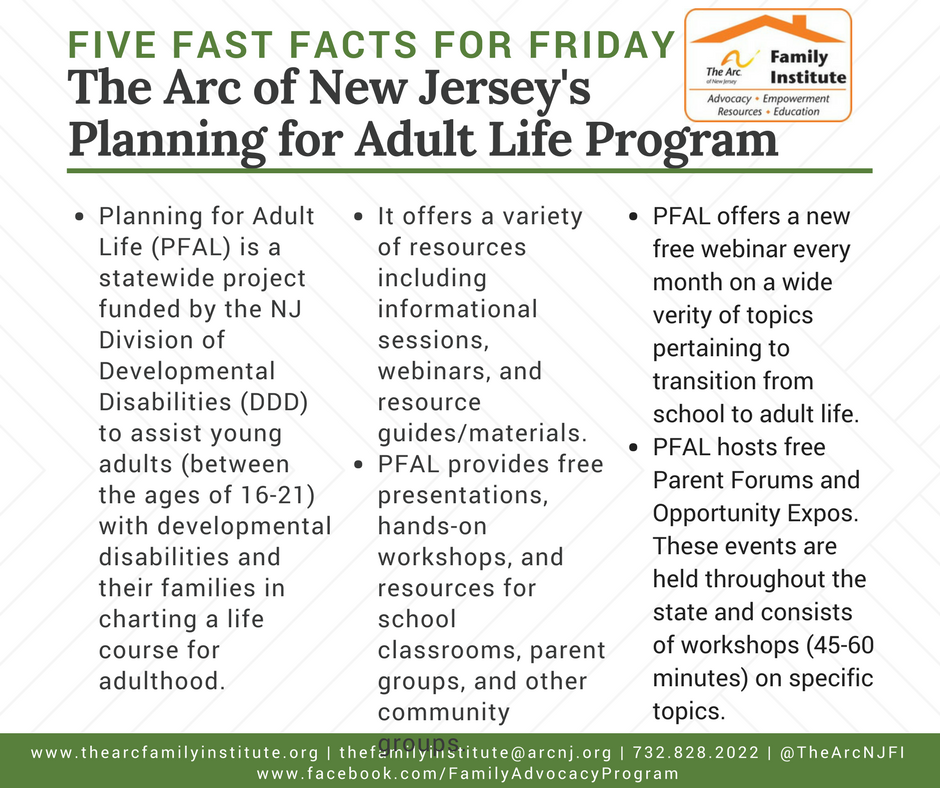 Planning for Adult Life Program (PFAL)