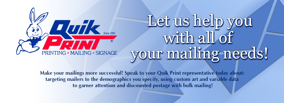 Let Us Help with your Mailing Needs
