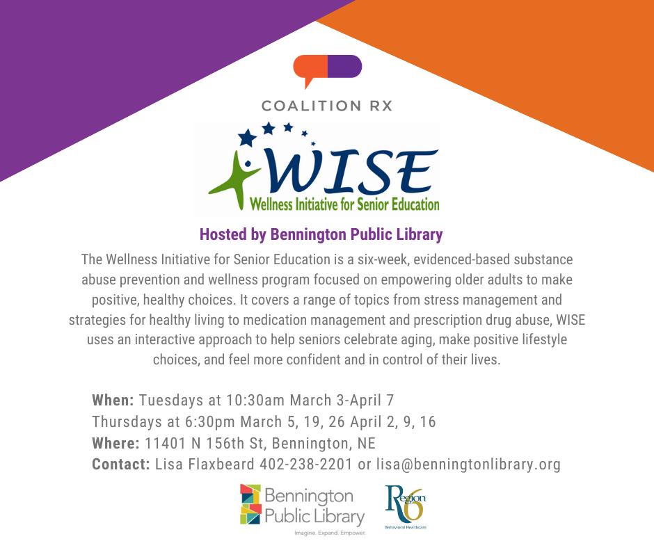WISE Program at Bennington Public Library