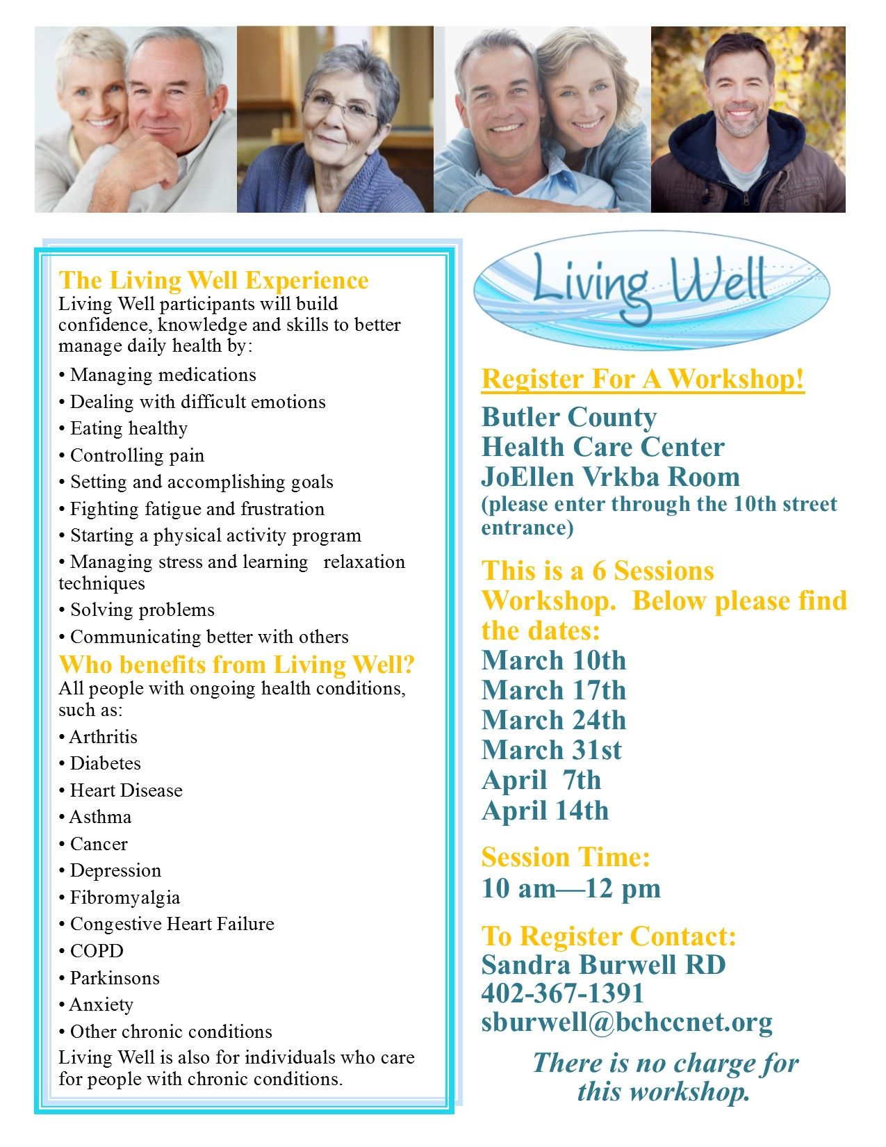 Living Well - Butler County Health Care Center
