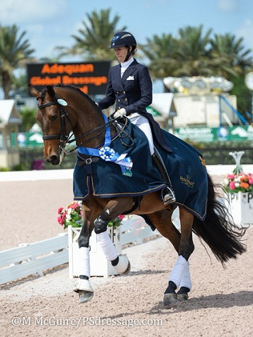 Olivia LaGoy-Weltz Awarded TDF's $25,000 Carol Lavell Advanced Dressage Prize