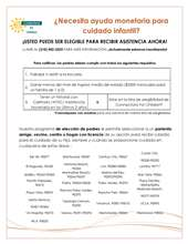 Enrollment Information (Spanish)