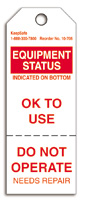 Equipment Status Tag