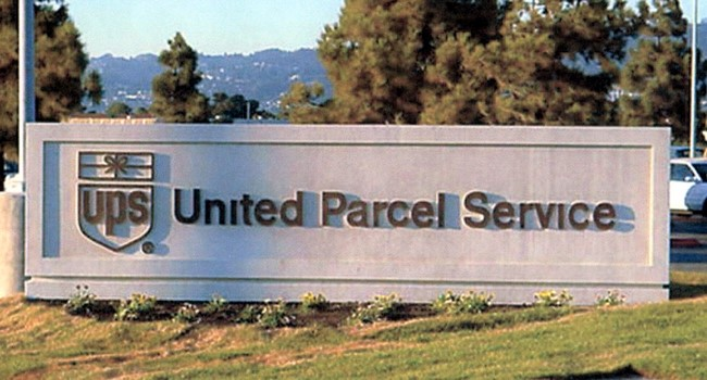 S28120 - Monument Sign for United Parcel Service