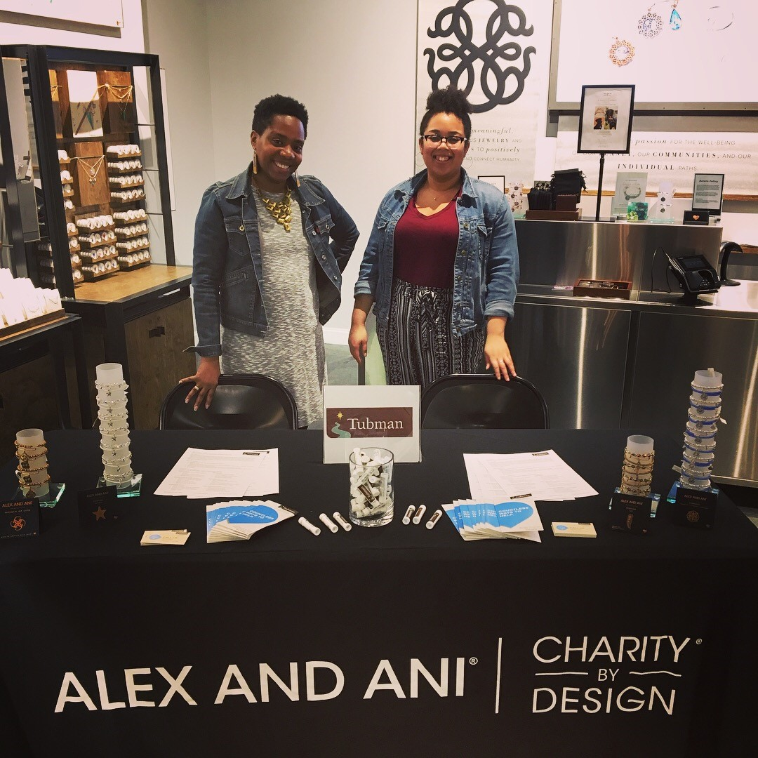 Tabling at Alex and Ani at the Mall of America