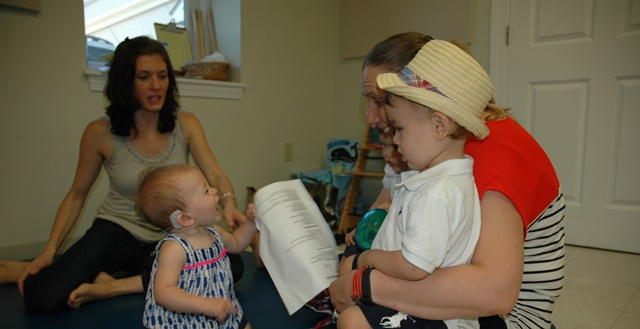 Family Center Early Intervention For Children With Hearing Loss