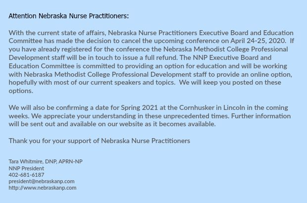 Updated Conference Information