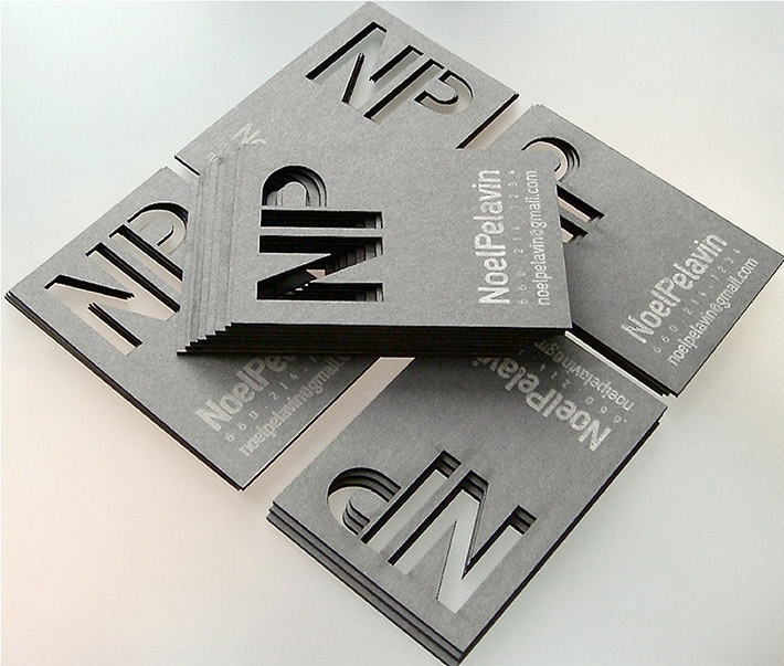 High End Laser Cut Business Cards Die Cut