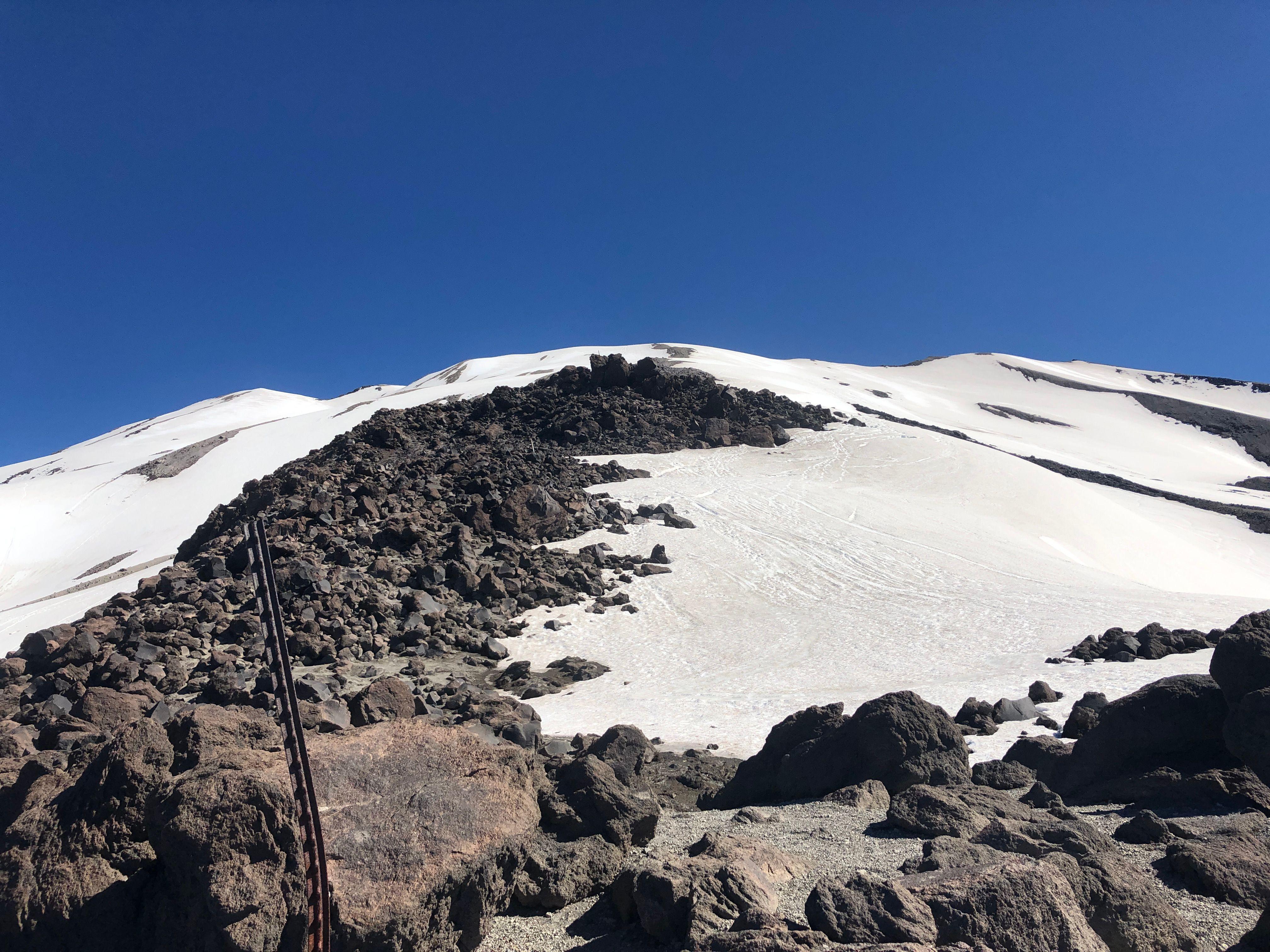 GPS Station to Summit Rim (7000')
