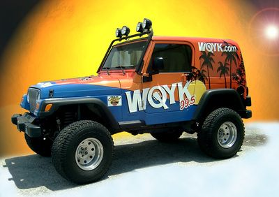 Jeep Full Wrap